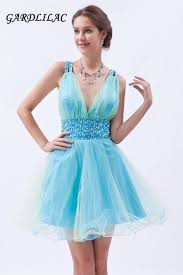 popular short light blue cocktail dresses for party dress buy