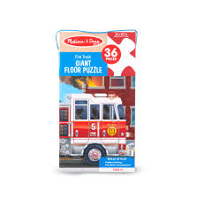 100 Melissa And Doug Fire Truck Puzzle Floor Walmartcom
