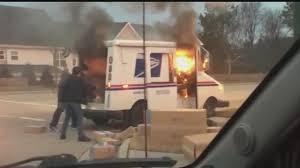 100 Postal Truck Fire Truck On Fire YouTube