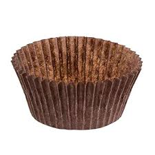 DECONY Brown Standard Size Cupcake Paper Baking Cup Liners Appx 2 X 1 445 500 Pack