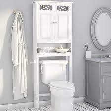 Wayfair Bathroom Storage Cabinets by Over The Toilet Storage Cabinets Wayfair