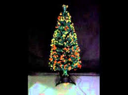 Green Fibre Optic Christmas Tree 150cm