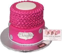 1909 2 Tier Cute Pink Cake