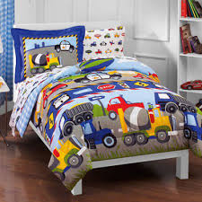 100 Truck Toddler Bedding Set Reversible Comforter With Sheets Boy Girl Kid