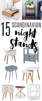 15 scandinavian nightstands skandi style interior