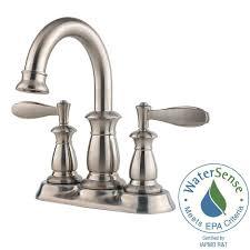 pfister pasadena 4 in centerset single handle bathroom faucet in