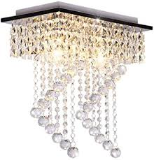 dellemade 2 leuchtet kristall kronleuchter modern