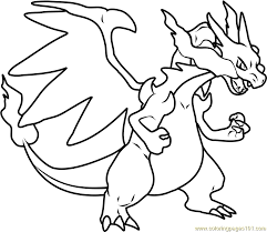 Full Size Of Coloring Pagecolor Pages Pokemon Color 78231 Mega Charizard X