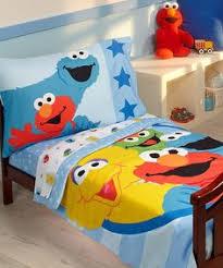 sesame street bedding comforter set 1st and future birthday