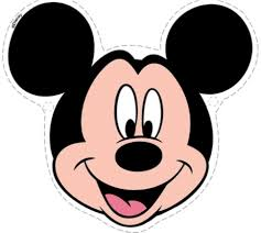 Coloring PagesCute Face Of Mickey Mouse Pages
