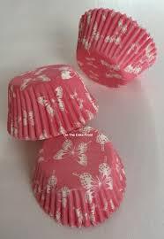 54 Deep Pink Butterfly Cupcake Cases Culpitt