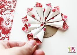 déco de noël deco en papier a fabriquer idee original pas cher