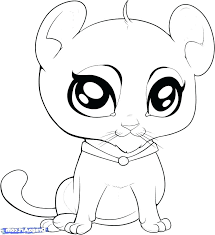 Cute Baby Animals Coloring Pages Animal Of