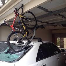 Ceiling Bike Rack Flat by Roof Box Storage Tips Straps Mounts Or Hoists U2022 Roof Box Guide