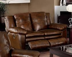 Darrin Leather Reclining Sofa With Console by May 2013 Reclining Loveseat