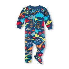 100 Monster Truck Pajamas NWT The Childrens Place Boys Dinosaur Footed Fleece Sleeper