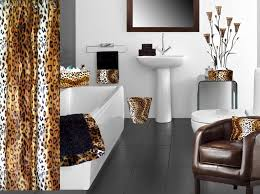 Cheetah Print Living Room Decor by Zebraprintbathroomsets Cheetah Print Bathroom Set