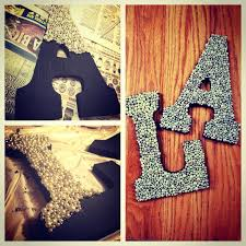 Pearl Decorated Dorm Room Letters Perfect To Decorate Your