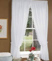 Plum And Bow Blackout Pom Pom Curtains by Classic White With Black Pom Pom Curtain Or Other Colors Pom Pom