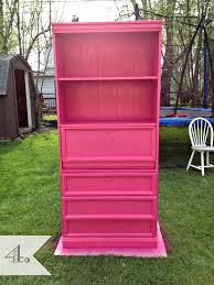 Black Dresser Pink Drawers by Laminate Old Dresser With Drawer And Shelves Plus Basket Storage