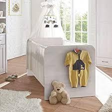 luca eleganter kleiderschrank babyzimmer 2 türig vielseitiger drehtürenschrank mit viel stauraum in pinie weiß trüffel 106 x 201 x 55 cm b h t
