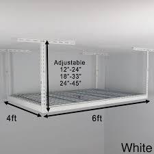 Hyloft Ceiling Storage Unit 30 Cubic Feet best 25 overhead garage storage ideas on pinterest overhead