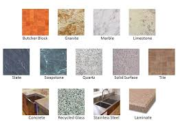 Bathroom Countertop Materials Pros And Cons by Countertop Materials Tinderboozt Com