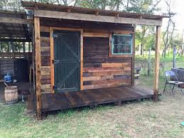 DIY Pallet Shed – Pallet Outdoor Cabin Plans