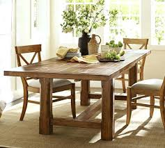 Pottery Barn Dining Set Farmhouse Table Chairs Slipcovers