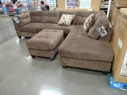 Microfiber Sofas And Sectionals by Furniture Costco Sectional Couch Costco Ottoman Light Brown