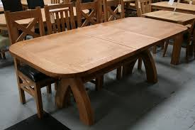 One Of The Finest Example A Cross Leg Dining Table You Will Find In UK With Choice Square Ends For GBP549 And Oval GBP599