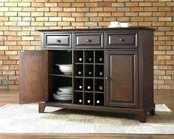 Grey Buffet Cabinet Side Tables Dining Room Table Luxuriant Sideboard Server