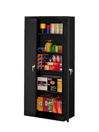 tennsco storage made easy deluxe storage cabinet assembled