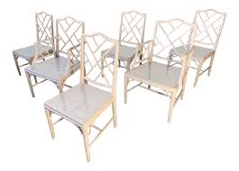 Chinese Chippendale Faux Bamboo Dining Chairs Bamboo Chippendale Chairs Small Set Of Eight Tall Back Black Faux Chinese Chinese Chippendale Florida Regency 57 Ding Table Vintage Six A Quick Living Room And Refresh Stripes Whimsy Side By Janneys Collection Chair Toronto For Sale Four