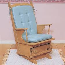 woodworking project paper plan to build glider rocker plan no 853