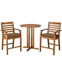 3 Piece Bar Height Patio Bistro Set by Don U0027t Miss This Bargain Patio Dining Set Brooks Island 3 Piece
