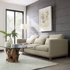 Crate And Barrel Verano Petite Sofa by Taraval 3 Seat Sofa With Oak Base Crates Barrels And Pillows