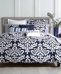 charter club damask designs navy duvet cover sets created for