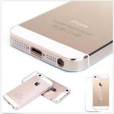 coque iphone 5 transparente en gel de haute qualité pas cher