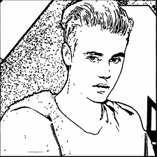 Full Size Of Coloring Pagetrendy Justin Bieber Print 1461707773cute Music Icon Page Extraordinary