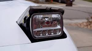 Upgrading Your Sealed Beam Headlights: Halogen Versus LED - The Drive Stedi 7 Inch Carbon Led Headlight Motorbike Truck Jeep Wrangler Crystal Clear 5x7 7x6 H1426054 Highlow Beam 19992018 F150 Diode Dynamics Fog Lights Fgled34h10 Led Around Headlights For Trucks Lllspg9006 9006 Headlight Bulbs With Blue Glow Light Lifetime Alburque Accsories Unlimited Inch Led Truck 6x7 Oracle 1416 Chevrolet Silverado Wpro Halo Rings Bulbs Boise Car Audio Stereo Installation Diesel And Gas Performance Automotive Bars Strips Halos Custom Light Kits