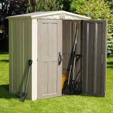 Rubbermaid Vertical Storage Shed by Storage Sheds On Hayneedle Outdoor Storage Sheds