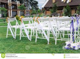 Wedding Chairs Beautiful Decorated Stock Photo - Image Of ... 16 Easy Wedding Chair Decoration Ideas Twis Weddings Beautiful Place For Outside Wedding Ceremony In City Park Many White Chairs Decorated With Fresh Flowers On A Green Can Plastic Folding Chairs Look Elegant For My Event Ctc Ivory Us 911 18 Offburlap Sashes Cover Jute Tie Bow Burlap Table Runner Burlap Lace Tableware Pouch Banquet Home Rustic Decorationin Spandex Party Decorations Pink Buy Folding Event And Get Free Shipping Aliexpresscom Linens Inc Lifetime Stretch Fitted Covers Back Do It Yourself Cheap Arch