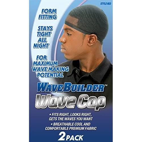 WaveBuilder Style 653 Wave Cap - 2 Pack