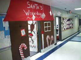 Christmas Office Door Decorating Ideas Pictures by 25 Unique Santas Workshop Ideas On Pinterest North Pole