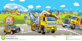 100 Tow Truck Games Cartoon Pilot Car And Helicopter And Cargo Stock