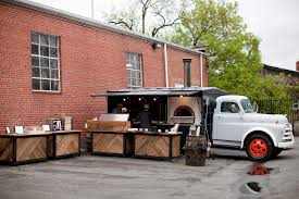 100 Brick Oven Pizza Truck Front Slider Well Crafted Wood Fired Caterer