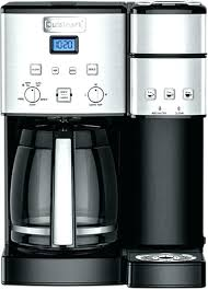 Cuisinart 4 Cup Coffee Maker Small Coffeemaker Black Stainless Front Zoom