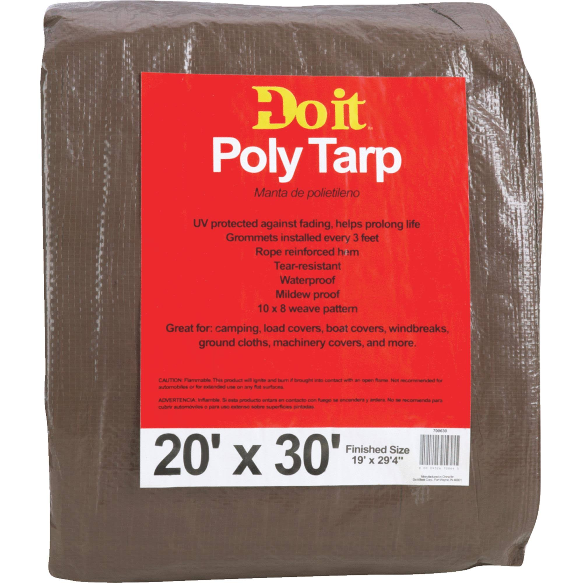 Dynatech International Inc. 700630 Do It Medium Duty Poly Tarp