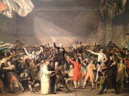 The Tennis Court Oath 1791 By Jacques Louis David